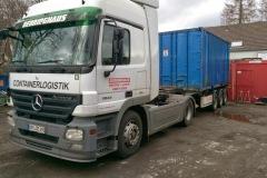 Arbeitseinsatz Container Versetzen 2015